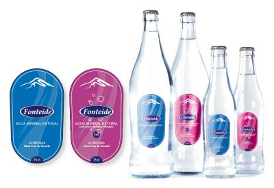 Agua Mineral Natural Fonteide, Línea Cristal