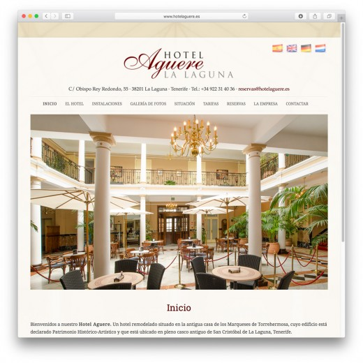 hotelaguere.es