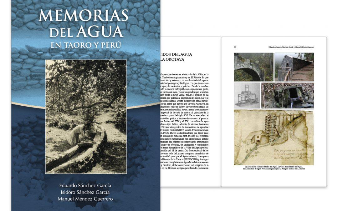 Memorias del agua, en Taoro y Perú
