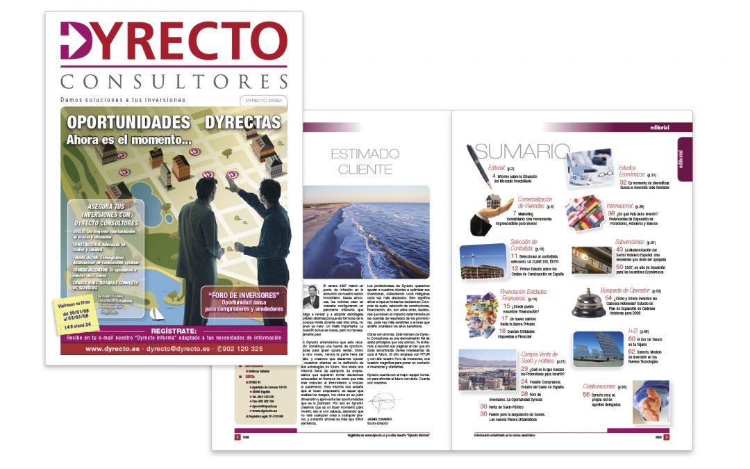 Boletín Informativo Dyrecto 2008