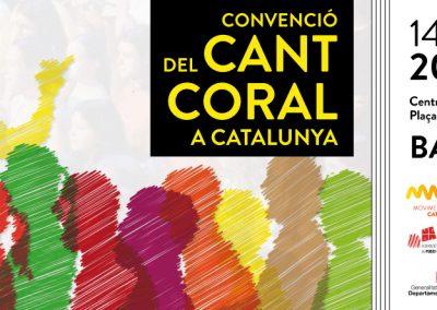 Promoción del la Convención de Canto Coral de Cataluña para el Moviment Coral Catalá