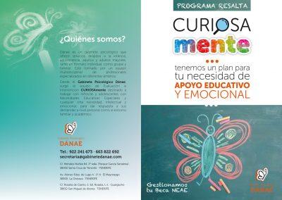 """Campaña """"Curiosa Mente"""" para Gabinete Psicológico Danae"""