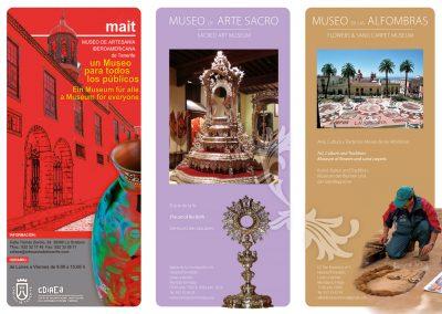 Folleto Museos de La Orotava