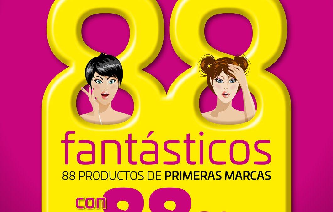 """Campaña """"88 Fantásticos"""" para Tiendas Ricky's"""